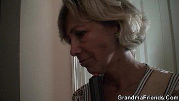 sleeping kitchen granny in boy rape Latina grind on cock
