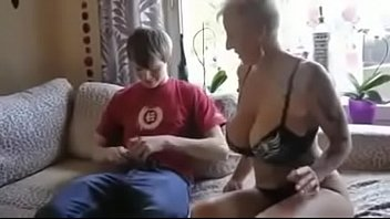 mom lunch son fuck after Blow job from shemale